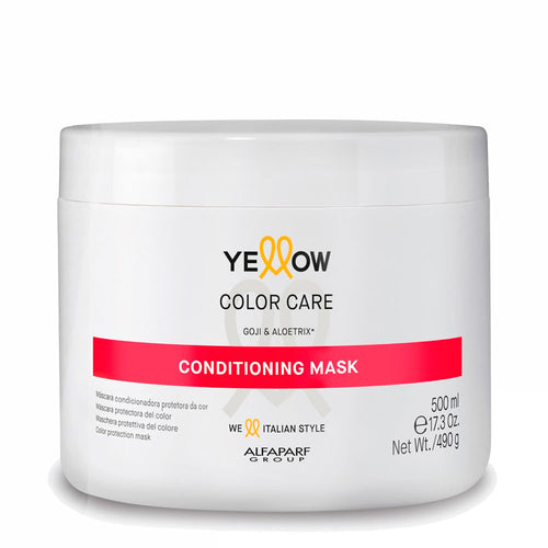 Alfaparf Yellow Color Care Conditionneur Masque Protetor da Cor Goji e Aloetrix 500ml / 17.3fl.oz