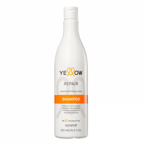 Alfaparf Yellow Repair Shampoo With Almond Proteins & Cacao 500ml/16.9fl.oz