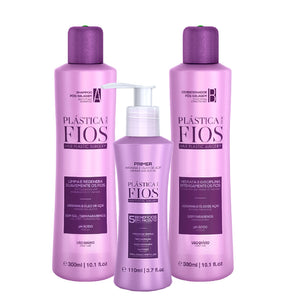 Kit Plastica dos Fios Post Sealing with Leave-In Protector