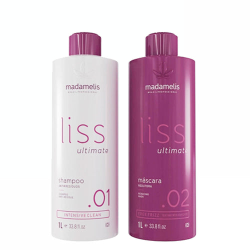 Madamelis Ultimate Flat Progressive Brush Set without Frizz