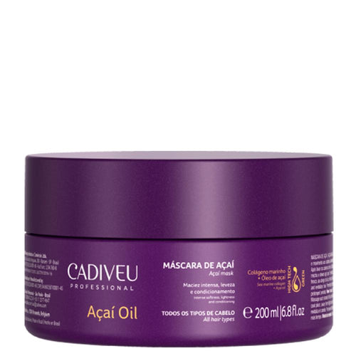Cadiveu Acai Oil Treatment Mask 200g/6.76fl.oz