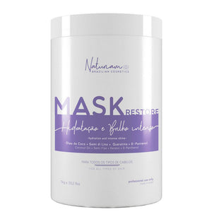 Naturiam Restore Hydrating and Brightening Mask 1kg/35.2fl.oz