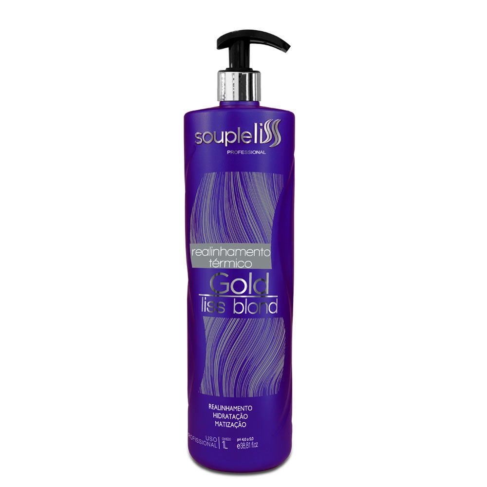 SoupleLiss Thermal Realignment Gold Liss Blond Tint 1L / 33.81fl.oz
