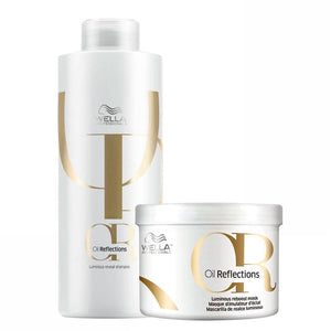 Wella Oil Reflections Shine Revealing Shampoo and Mask Kit