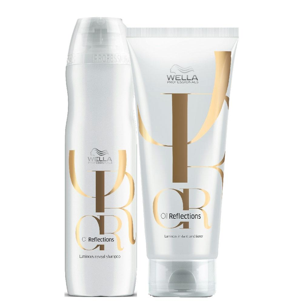 Wella Kit Oil Reflections Home Care Shampoo and Conditioner