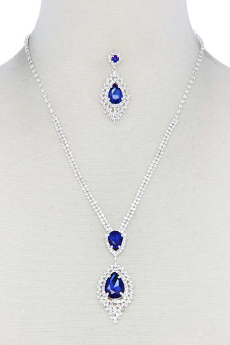 Rhinestone Necklace (5 Colors)