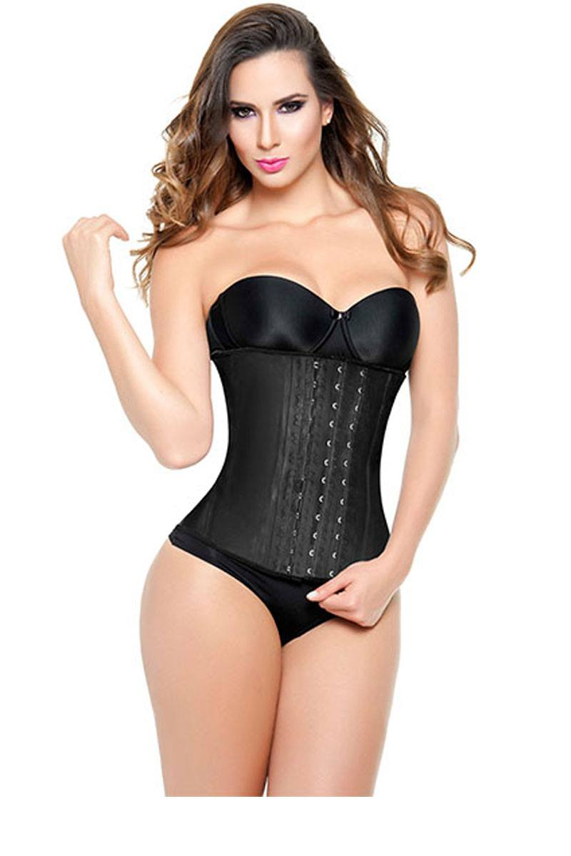 Black High Compression Latex Waist Trainer