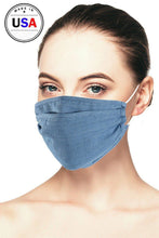 Load image into Gallery viewer, Denim 3d Reusable Face Mask