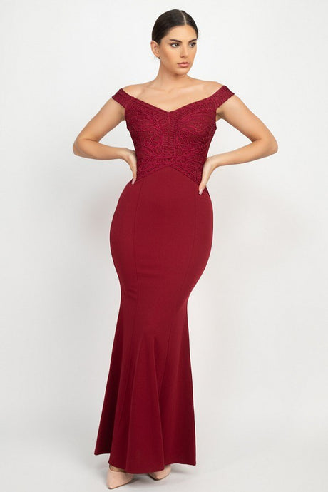 Ruby Maxi Formal Mermaid Dress