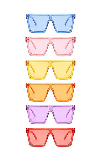 Retro Cool Vibes Sunglasses (6 Colors)