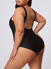 Load image into Gallery viewer, Thick Thighs Saves Lives Plus Size One-piece Swimsuit (2 Colors)
