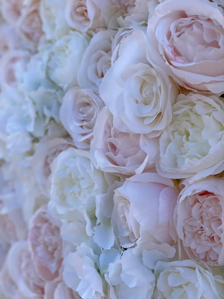 Hire Flower Wall - Rose & Peony Pastel Flower Wall