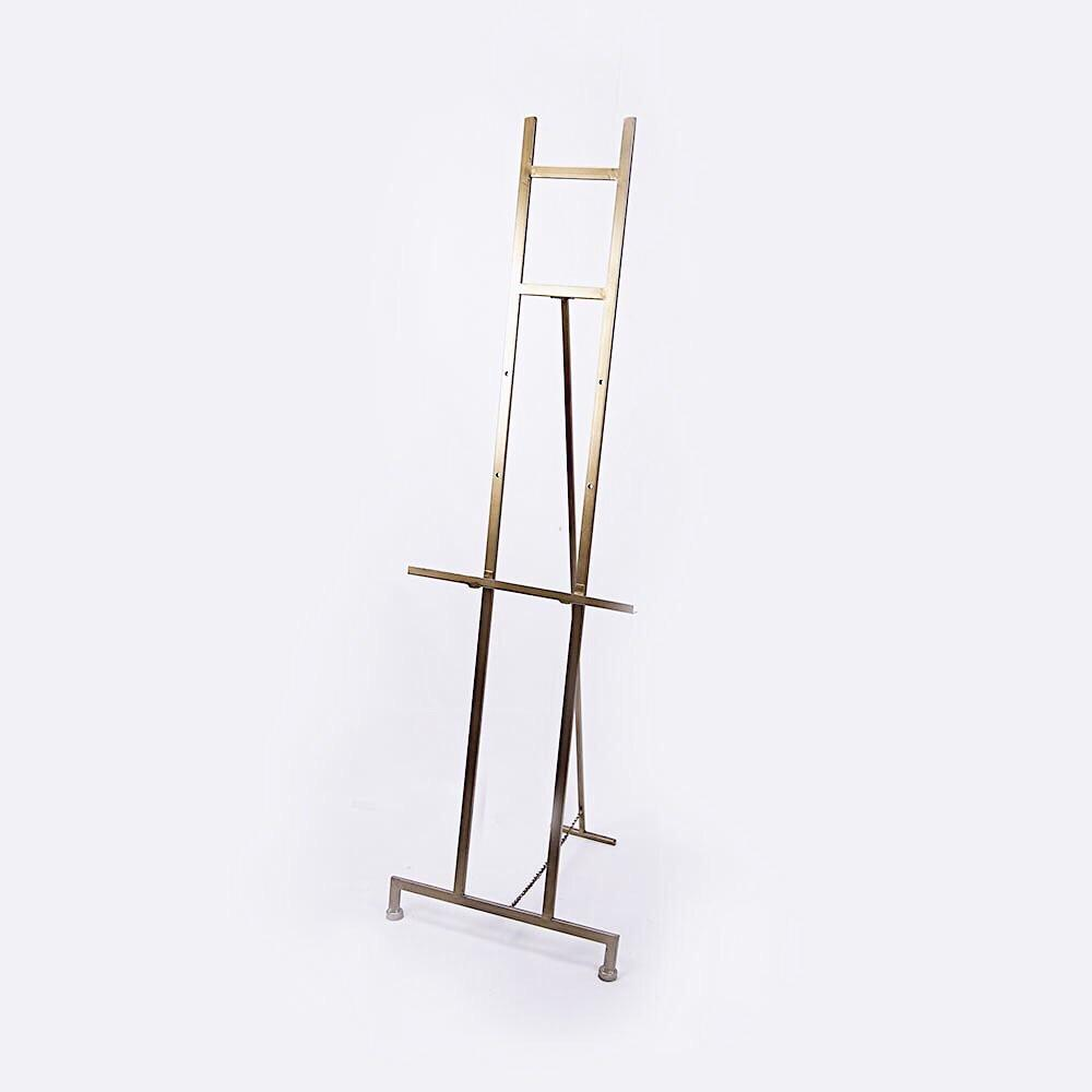 HIRE of Gold Metal Easel - $60 Weekend Hire - Silver Belle Design