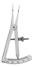 Load image into Gallery viewer, Castroviejo Caliper, Angled, 20mm Scale