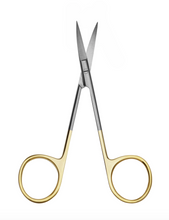 Load image into Gallery viewer, Iris Scissors curved T.C