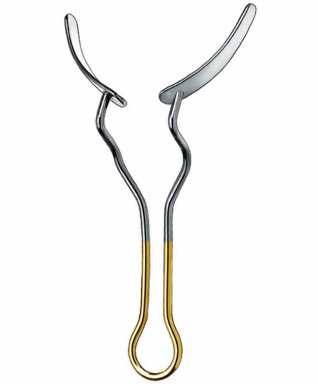 Maty Cheek Retractor is used to hold mucoperiosteal flaps, cheeks, lips away from the surgical area.