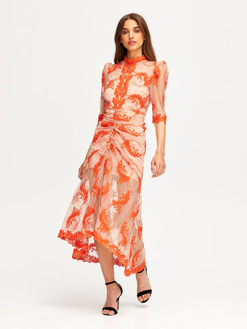 HONEYMOON MIDI DRESS