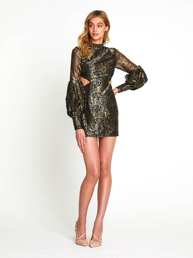 REALMS CUT OUT MINI DRESS