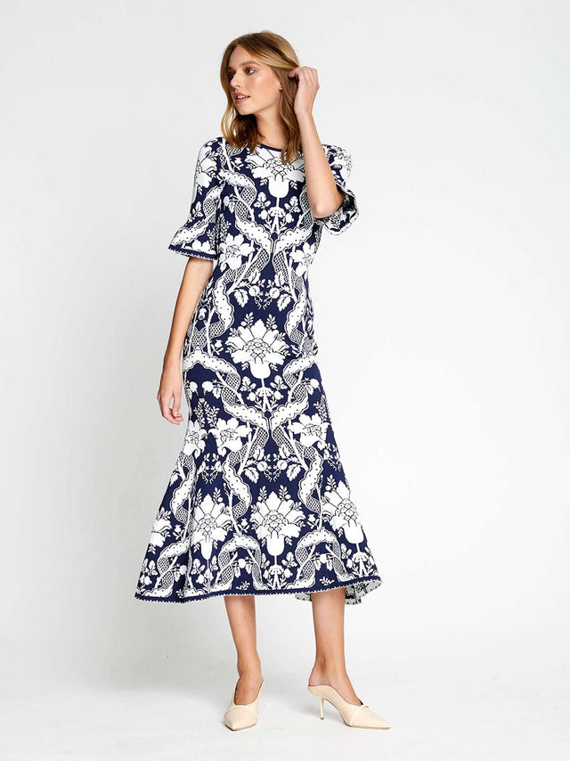 Sittin Pretty Midi Dress