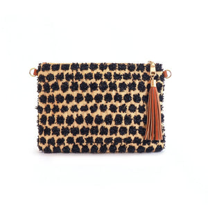 POPPY - Black Cross Body and Wristlet - FEW LEFT - Aura & Fleur