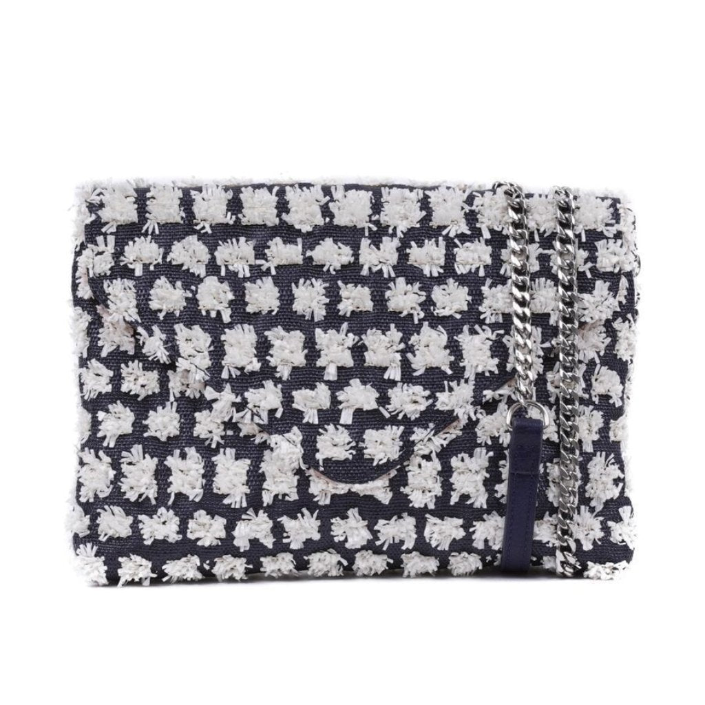 EMMA - Blue Envelope Fold Clutch - LAST ONE - Aura & Fleur