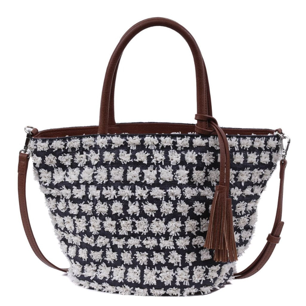 PIPPA - Blue Mini Basket Bag - SOLD OUT - Aura & Fleur