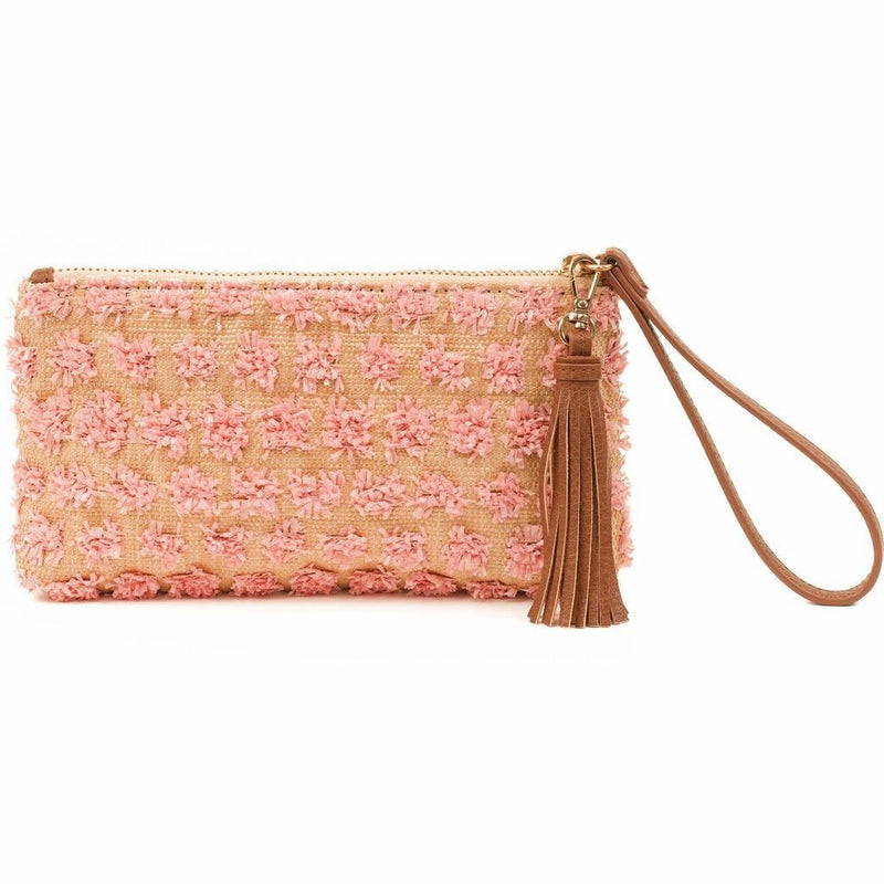 ROXY - Pink Wristlet Clutch - SOLD OUT - Aura & Fleur
