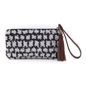 ROXY - Blue Wristlet Clutch - SOLD OUT - Aura & Fleur