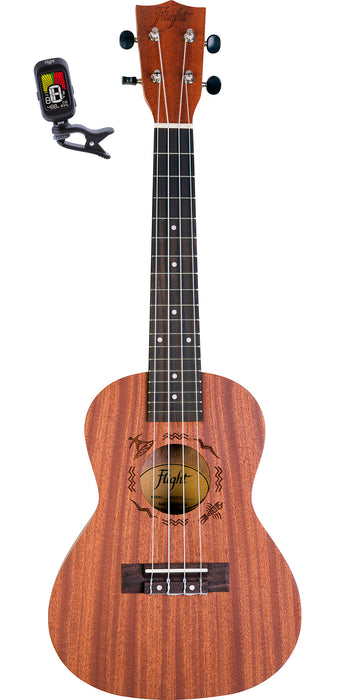Ukelele Flight Concierto Mod. Nuc Pack