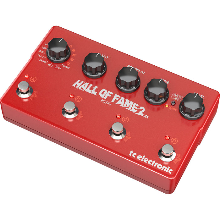 Pedal T.C. P/Guitarra Hall Of Fame 2 X4