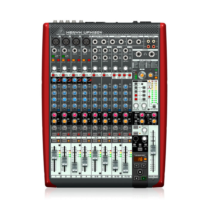Mezcladora Con Interface Behringer Ufx1204
