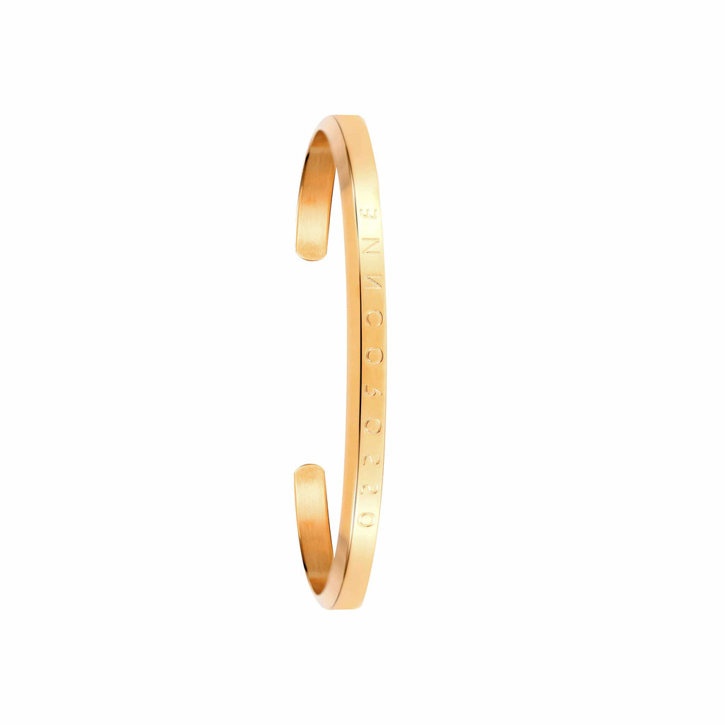 Bianco Rosso Watches Bracelet Small Classic Gold Bracelet rologia cyprus greece