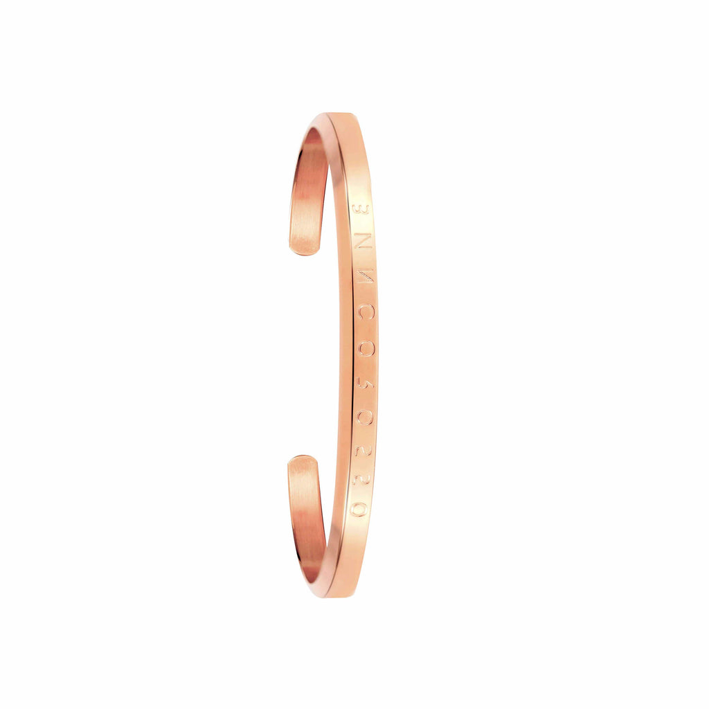 Bianco Rosso Watches Bracelet Small Classic Rose Gold Bracelet rologia cyprus greece