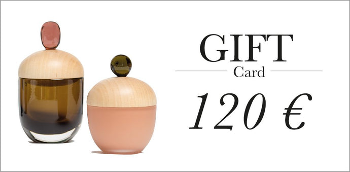 Gift card 120 €