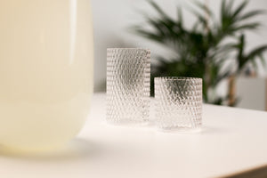 Pilke drinking glasses