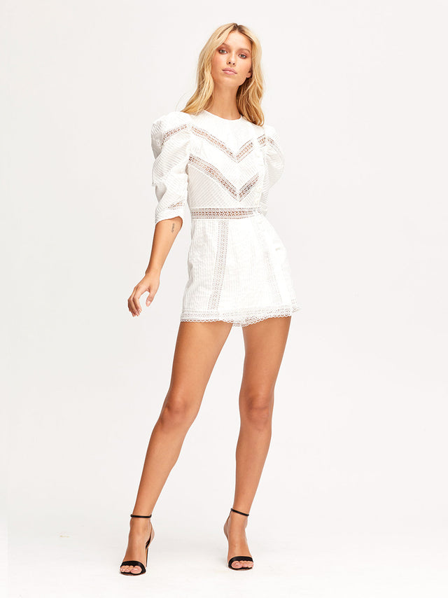 A FOREIGN AFFAIR MINI DRESS