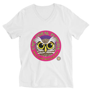 Burrowing Owl V-Neck