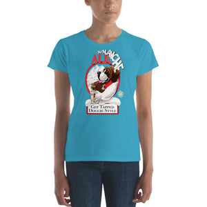 Ladies Tapped Doggie Style t-shirt