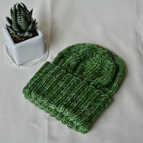 WFTD Classic Ribbed Beanie - Parsley