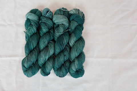 Spruce Sock Yarn (100 g / 463 y) Hand Dyed