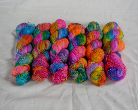 The Magic Sock Yarn (100 g / 463 y) Hand Dyed
