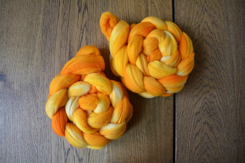 Saffron Merino Top (4oz)