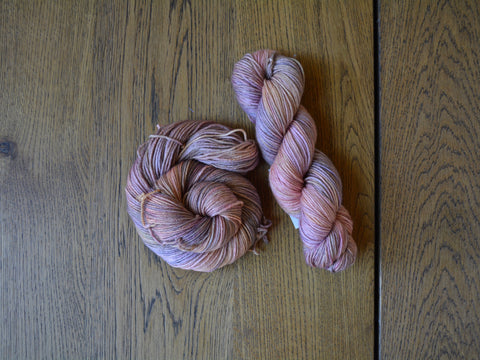 Antique Rose Worsted Merino Yarn