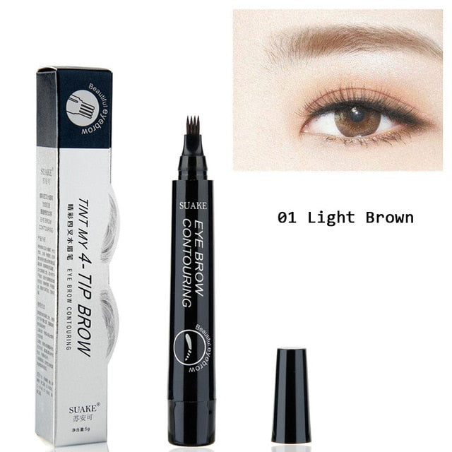 Waterproof Microblading Tattoo Eyebrow Pencils Blushesandroses