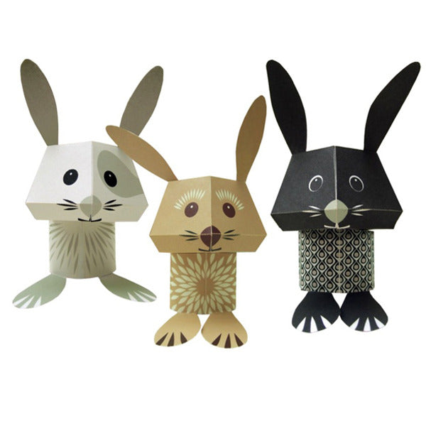 The Carrot Crew—Paper Animals