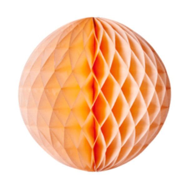 Honeycomb Ball Peach
