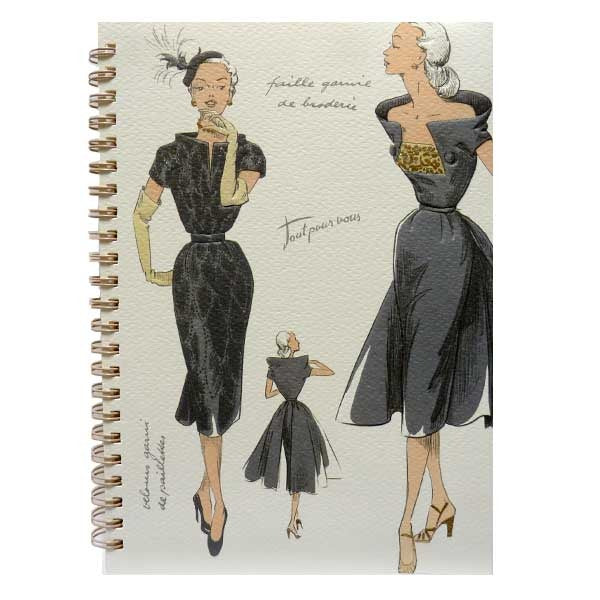 Vintage Fashion Notebook