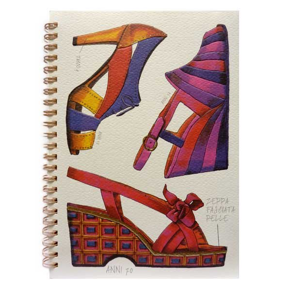 Vintage Shoes Notebook
