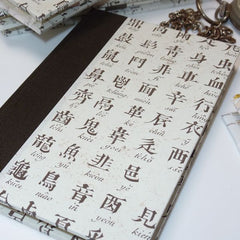 Chinese Alphabet Travel Journal
