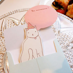 Paper Doll Card - Cat